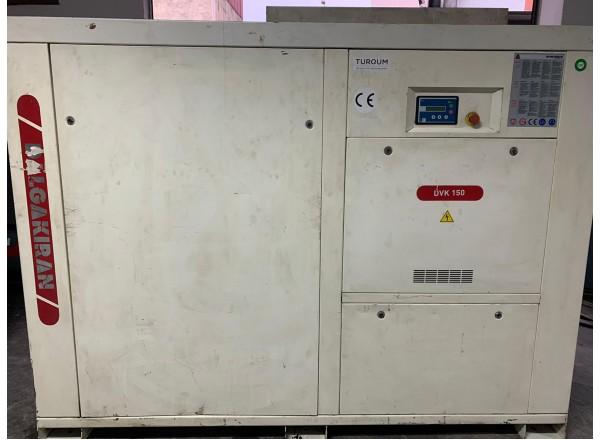 Dalgakıran DVK 150 2. el vidalı kompresör